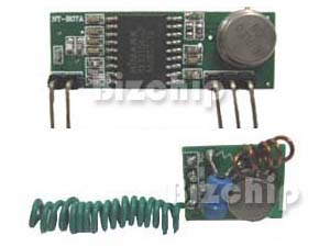 Radio Frequency Module Set, 433MHz or 315MHz